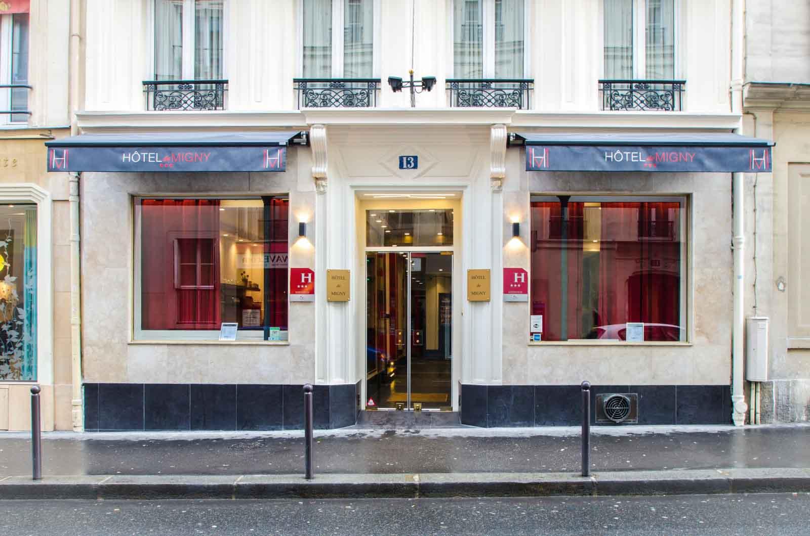 hotel-migny-opera-montmartre-hotel-door